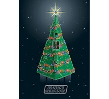 Season's Geekings - Star Destroyer Photographic Print