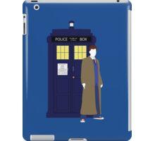 Ten and the TARDIS iPad Case/Skin