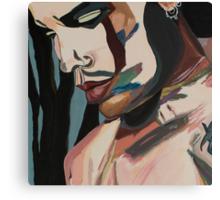 Stillness of Heart, portrait crop Canvas Print