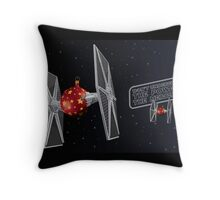 Don't Underestimate the Power of the Merry Side. Throw Pillow