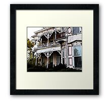 The Knox House Framed Print