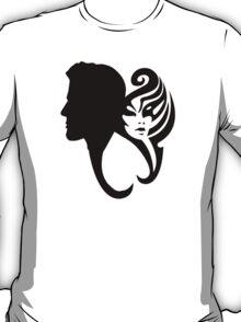 Love - The Couple - Cool Man Woman Heart TShirt T-Shirt