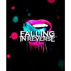 Falling in reverse, fashionably late: lips by Harry Marston
