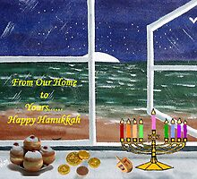 Happy Chunakkah by WhiteDove Studio kj gordon