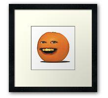 The Annoying Orange! Framed Print