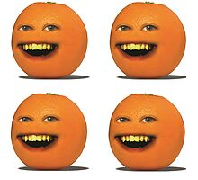 Four Annoying Oranges by Atomic5