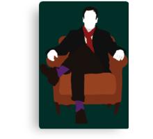 Sherlock Holmes - Elementary V.2 Canvas Print