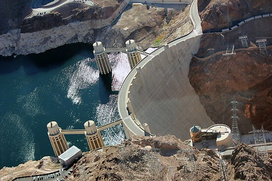 Hoover Dam by Jennifer Heseltine