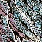 Purple Glossy Starling by LBonomatopoeia