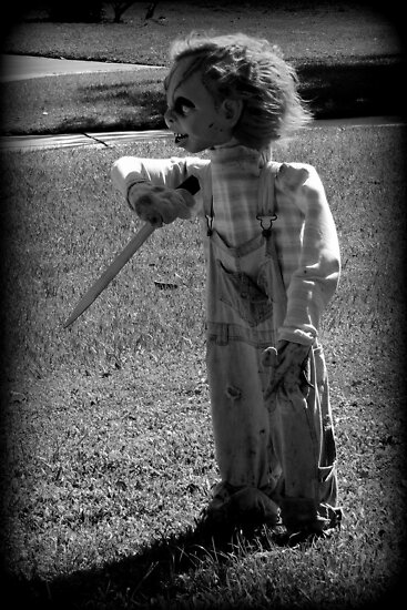 Chucky's Here.....Trick or Treat by AuntDot