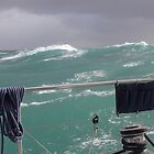 Storm on Tasman Sea by Jola Martysz