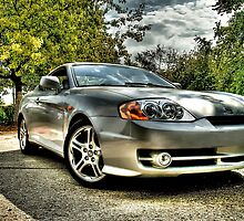 Hyundai Coupe by boby601