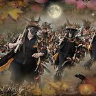 Morris & Mayhem Calendar - October by Angie Latham
