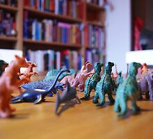 Little Plastic Dinosaurs by linhere