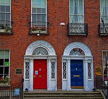 Ireland. Dublin. Georgian Doors and Windows. by vadim19