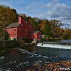The Historic Red Mill of Clinton NJ by Lanis Rossi