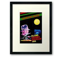 """""""Talking Freddy"""" Framed Print"""