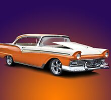 1957 Ford Fairlane 500 by DaveKoontz