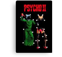 "Psycho II ""Paper Dolls"" Canvas Print"