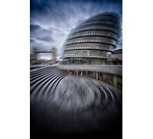 collapsing new building Photographic Print