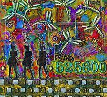 525,600 Minutes Metal Art - COLOR by © Angela L Walker
