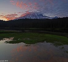 Mt. Rainier by John Behrends