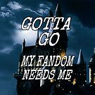 """""""Gotta Go"""" Case - Harry Potter by fairy911911"""