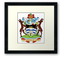 Antigua and Barbuda Coat of Arms  Framed Print