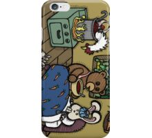 Teddy Bear And Bunny - The Flu iPhone Case/Skin