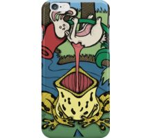 Teddy Bear and Bunny - Sticky Situation iPhone Case/Skin
