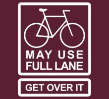 May Use Full Lane (dark) by KraPOW