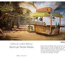 """Denpasar "" en Mots & Image (M.Konecka) by Eric Tchijakoff"