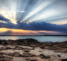 Sunrays by Stephen  Nicholson