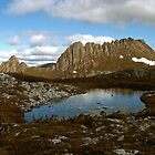 Cradle Mountain With Tarn by Nick Delany