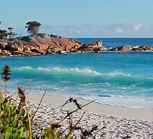 Binalong Bay, Tasmania by Nick Delany