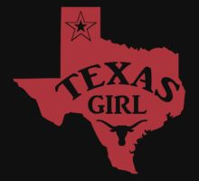 Texas Girl T-Shirts & Hoodies by valenca