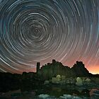 Startrails at Bombo, NSW by Malcolm Katon