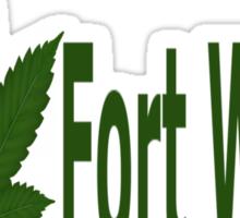 0154 I Love Fort Wayne Sticker