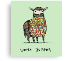Wooly Jumper Canvas Print