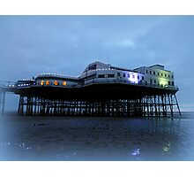 North Pier at Dusk. Photographic Print