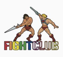 Filmation Fight Club: Blackstar vs He-Man by Anna Welker