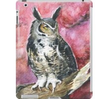 Eagle-owl iPad Case/Skin