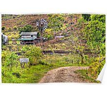 Barton Creek Mennonite's Property in Belize, Central America Poster