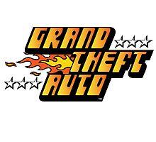 Grand Theft Auto (First, Original Logo) by annamariabelial