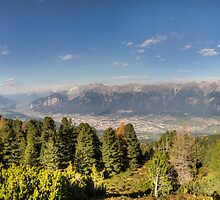 Walking along the Zirbenweg - A PanoramicView by Stefan Trenker