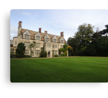 Anglesey Abbey Canvas Print