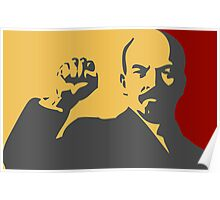 POWER WITH LENIN  Poster