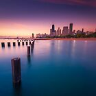 Chicago Sunrise by Raj Golawar