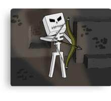 Mine Skeleton  Canvas Print
