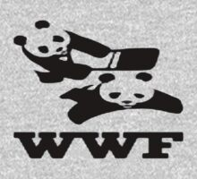 WWF panda wrestling  by lewislinks